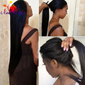 Synthetic Lace Front Wig Straight Black Hair Long Synthetic Lace Front Wigs Heat Resistant Glueless Brazilian Hair Natural Wigs
