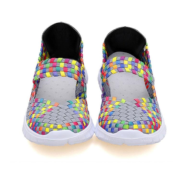 QJ 599-2019 Breathable Women Summer Shoes Fabric Woman Flats-16