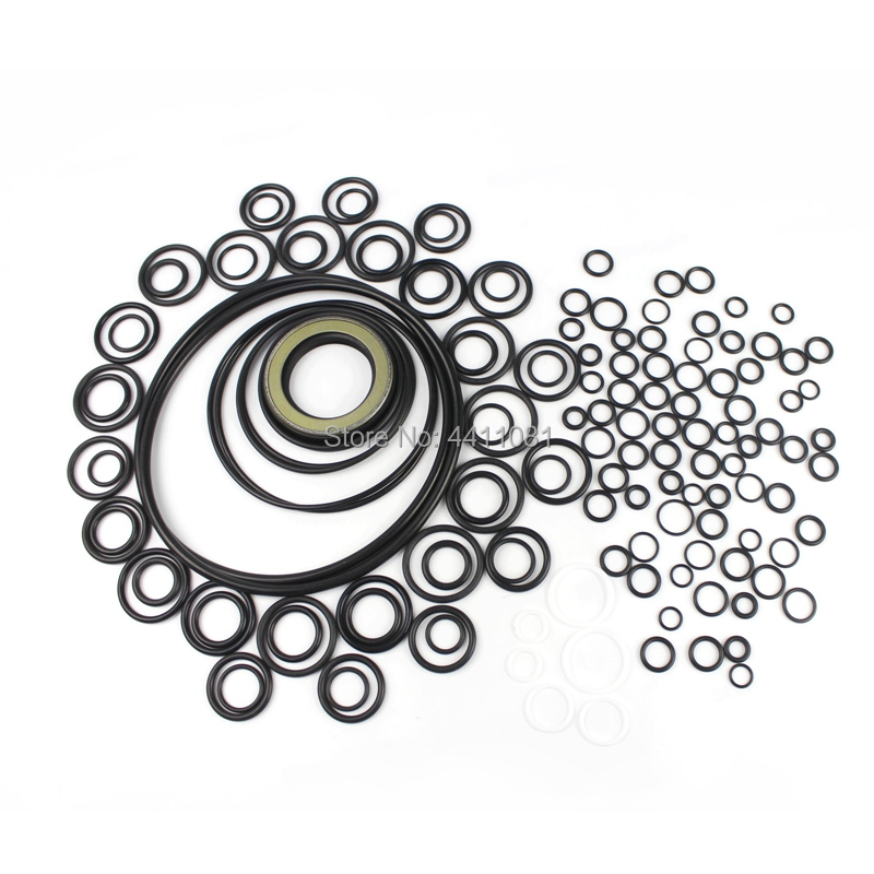 все цены на For Hitachi EX200-1 Hydraulic Pump Seal Repair Service Kit Excavator Oil Seals, 3 month warranty онлайн