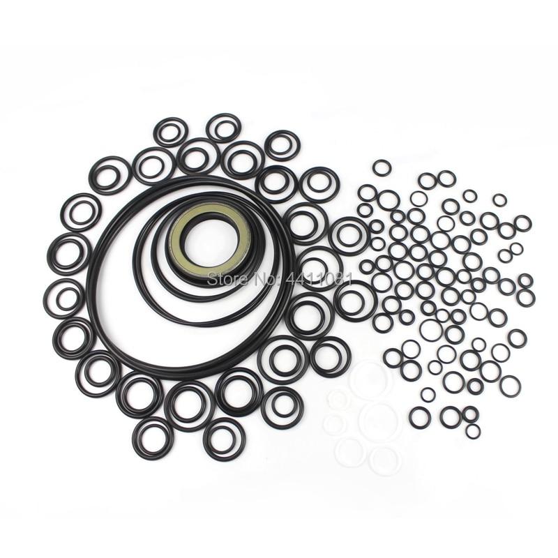 Pour Hitachi EX200-1 Kit de Service de réparation de joint de pompe hydraulique joints d'huile d'excavatrice, garantie de 3 mois
