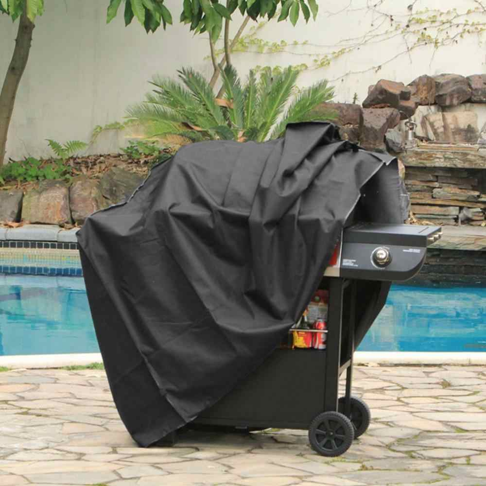 BBQ Cover Waterproof Grill Accessories Barbecue Covers for Weber Gas Large Barbeque UV Outdoor Garden
