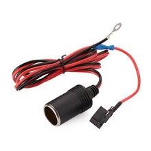 1 м 1,5 мм DC12V автомобильный прикуриватель гнездо Кабель ATC держатель предохранителя гнездо разъем адаптер
