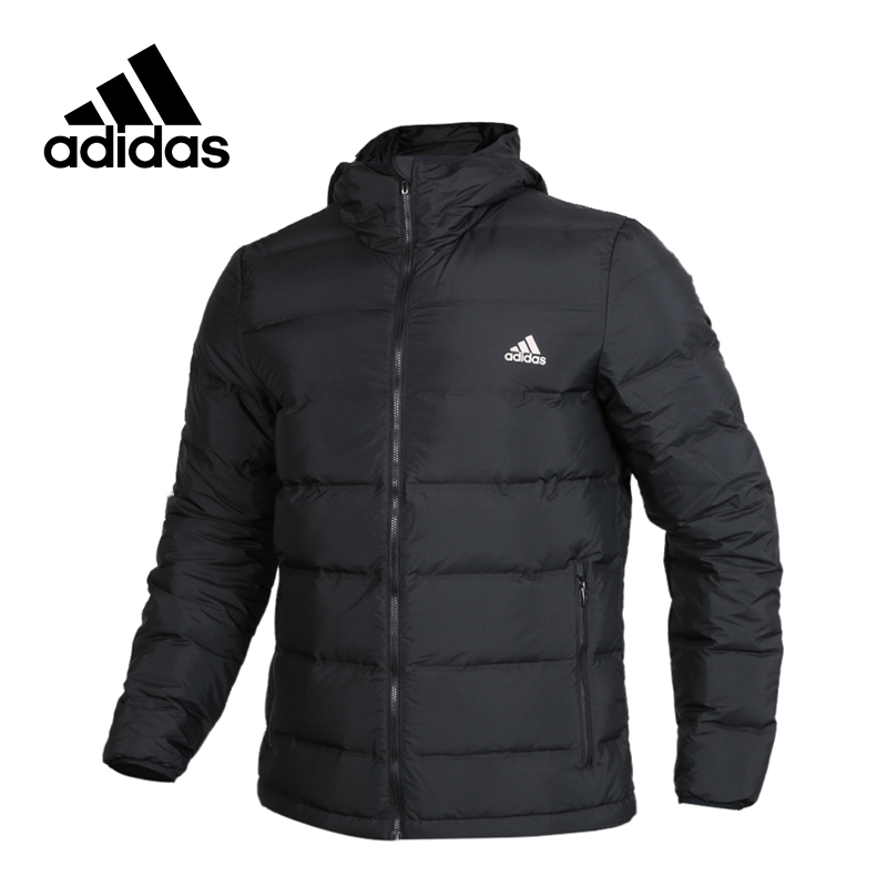adidas New Arrival Authentic Helionic Ho Men's Jacket Windproof Hooded Sportswear BQ2001 adidas original new arrival official neo women s knitted pants breathable elatstic waist sportswear bs4904