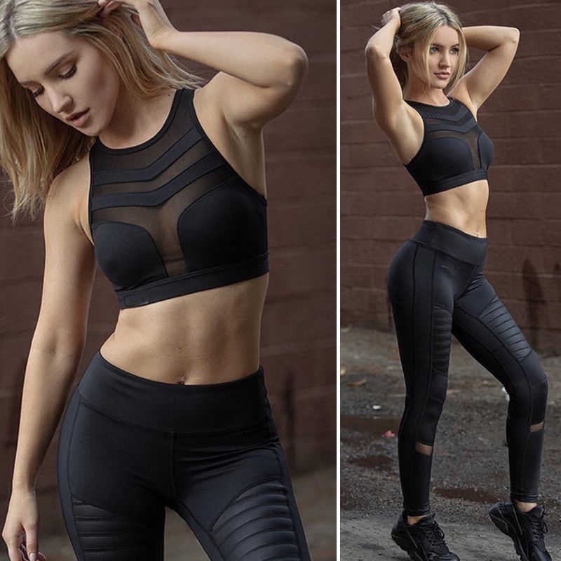 Sexy Women Sports Bra Gym Yoga Running Seamless Push Up Padded Fitness Workout Crop Top Tank Top Vest Sportswear Brassiere
