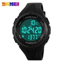 Women Sports Watches SKMEI Brand 3D Pedometer Digital Fitness For Men Women Outdoor Sports Wristwatches Girl Dress Watches