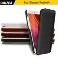 Xiaomi Redmi 4 Телефон Case Для Xiaomi Redmi 4 Redmi 4 Pro премьер Flip Leather Case Cover капа Imuca Марка уход для вас мешки