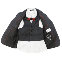 Nimble suit for boy Polyester Single Breasted Boys Pinstripe Suit boys suits for weddings roupas infantis menino jogging garcon