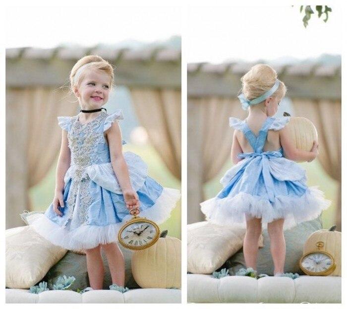 EMS DHL Free 2015 Cinderella little girls kids Princess Tulle ...