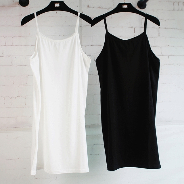 27e654bc064 Summer Women Clothes Solid Sleeveless Shirt Cotton Camisole Female  Elasticity Vest Tops 161