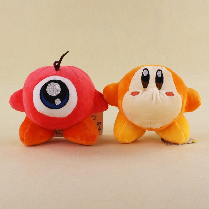 2 Styles 13cm Kawaii Kirby Waddle Dee Waddle Doo Plush Soft Stuffed Animals Toys For Kids