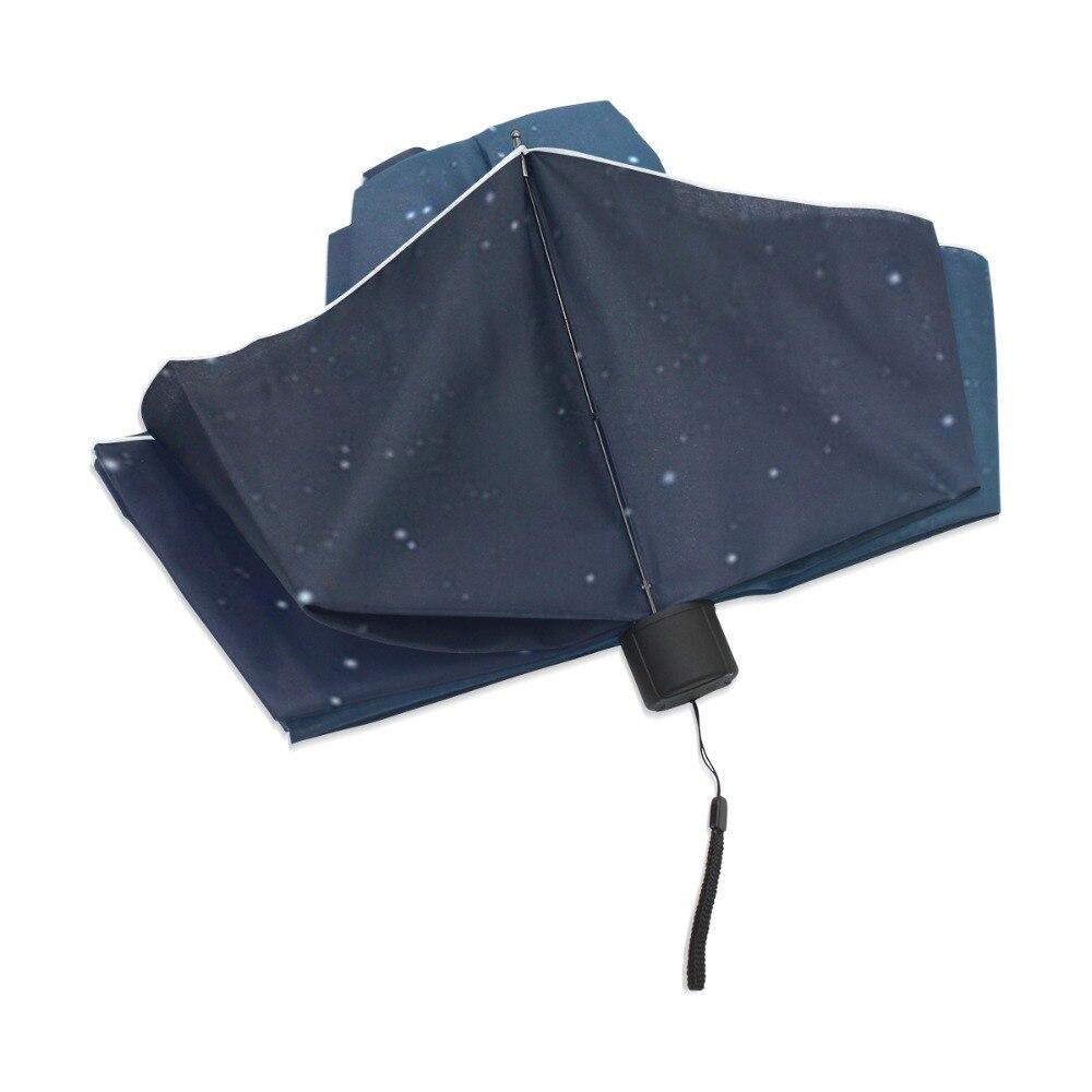 Млечный Путь Galaxy зонтик дождь Для женщин складной зонт Звездная ночь Зонт женский Солнечный зонтик небо Paraguas
