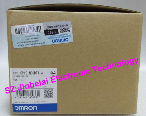 OMRON PLC CP1E-N30DT1-A New and original [zob] 100% brand new original authentic omron omron photoelectric switch e2s q23 1m 2pcs lot