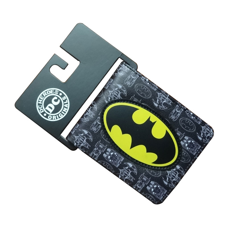 DC Marvel Comics Bat-man Leather Purse Super Hero Avengers Batman Wallets Gift Men Women Waterproof PVC Short Wallet carteira comics dc marvel dollar price wallets men women super hero anime purse creative gift fashion leather bags carteira masculina