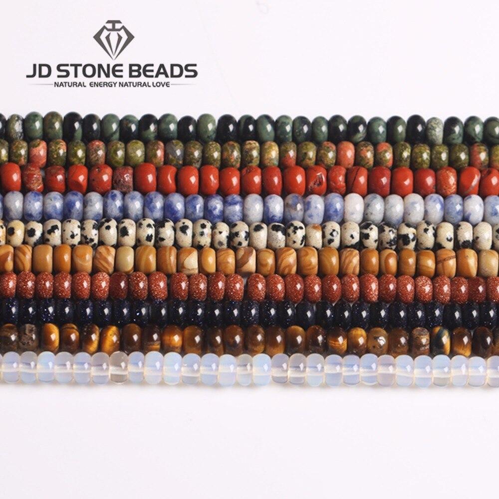 Perlen Schmuck & Zubehör Alle Größen Mischen Farbe Abacus Perlen Gerade Loch Hohe Menge Rounderlle Perle Diy Schmuck Halskette Dekoration Freies Verschiffen