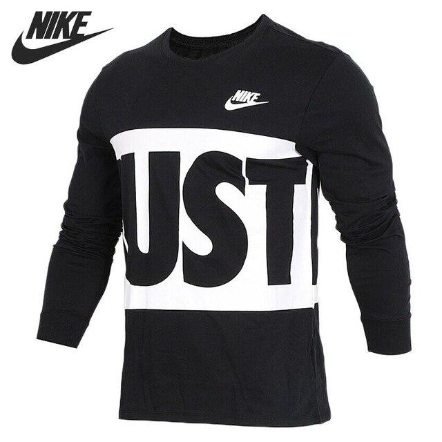 791e0a794478b Nouveauté originale 2018 T-shirts NIKE pour hommes vêtements de sport à manches  longues