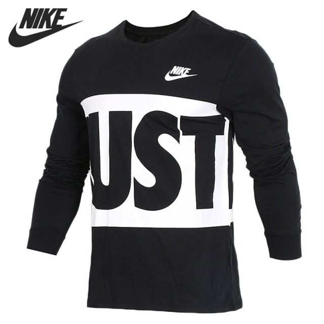 dded8467a35 Original New Arrival 2018 NIKE Men's T shirts Long sleeve Sportswear ...
