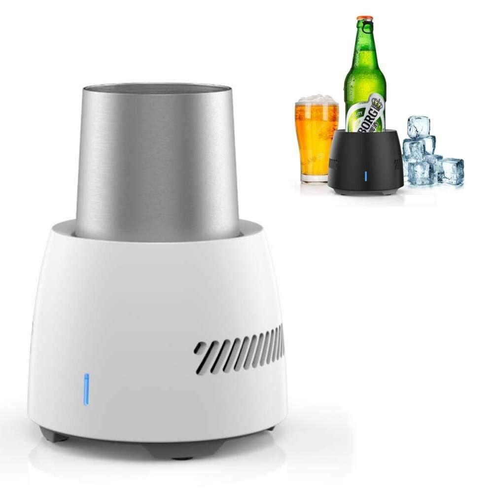 Portable Mini réfrigérateur bière boisson réfrigération électronique refroidisseur boisson refroidisseur bouilloire instantanée refroidissement tasse congélateur été