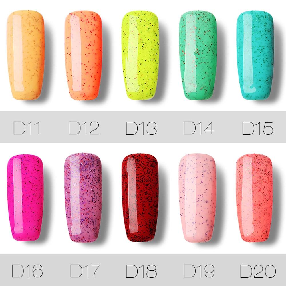 Rosalind Brand New 10ML Gel Nail Polish Nail Art Gel Polish manicure ...