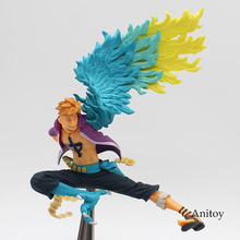 Anime One Piece Marco Action Figure PVC Figure Collectible Toy
