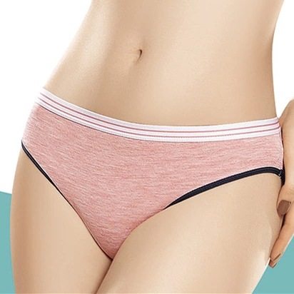 Women Cotton Underwear Girl Sweet Comfortable Soft Carry Buttock Shapes Breathable Underwear 5pieces/$22.45