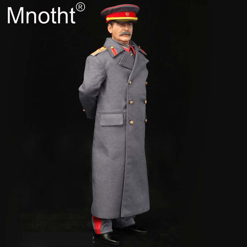 1/6 Scale Soviet Red Empire Leaders Joseph Vissarionovich Stalin Action Figures Set Toys Model R80110 With Head Sculpt m3