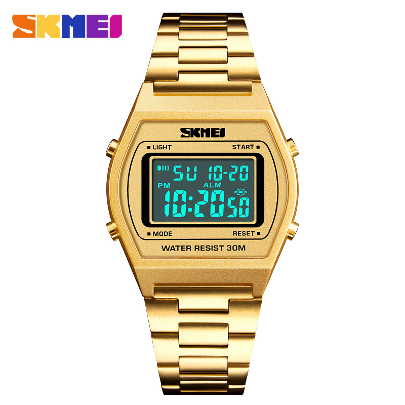 Men LED Digital Watches Top Brand Luxury SKMEI 2018 Famous Watches For Man Clocks Watch Men Herren Uhren relogio masculino