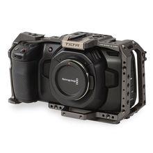 تيلتا BMPCC 4K بلاك ماجيك تصميم جيب سينما كاميرا 4K كامل هيكل قفصي الشكل للكاميرا (تيلتا رمادي)
