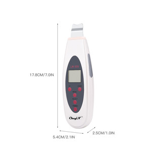 Image 5 - Professional Ultrasonic Facial Skin Scrubber Ion Deep Face Lifting Cleaning Peeling Rechargeable Device Beauty Care Instrument40