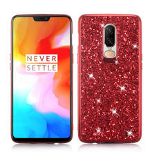 Phone Case for Oneplus 6 1+6 Silicon Bling Glitter Crystal Sequins Soft TPU Back Cover Fundas One plus 6T capa coque
