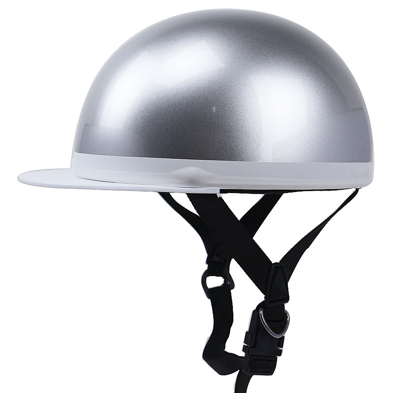 Demi casque pour moto Cruiser casquette visage ouvert demi équitation casque de sécurité casques réglables