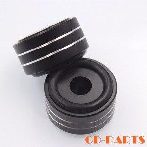 Image 3 - 4 Stuks 40*20 Mm Gefreesd Volledige Aluminium Versterker Voeten Pc Chassis Speaker Kabinet Isolatie Stand Base Amp Dac draaitafel Pad Kegel