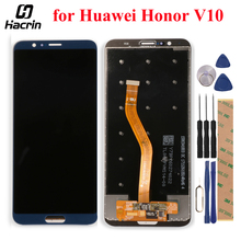 for Huawei Honor V10 LCD Display + Touch Screen Digitizer Assembly Replacement For Honor View 10 BKL AL00 BKL AL20 / BKL L09