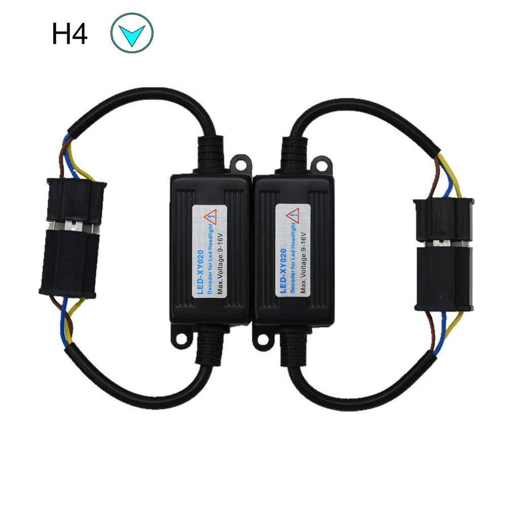 ECAHAYAKU H3 9005 9006 H1 H11 H4 H7 LED Canbus Car Headlight Decoder Wiring Adapter DRL LED Lamp Error Canceler Fog Light Canbus in Car Light Accessories from Automobiles Motorcycles