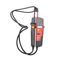 Uni T Ut18c Digital Voltage Continuity Tester AC DC Voltmeter Auto Range Volt Detector Lcd Led Indicate Rcd Test IP65 6v 690v