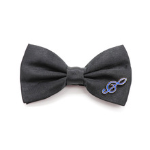 Fashion Black Matte Mens Bow Tie Lightning Note gesture V  Women For Kids Wedding Dress Accessories gift