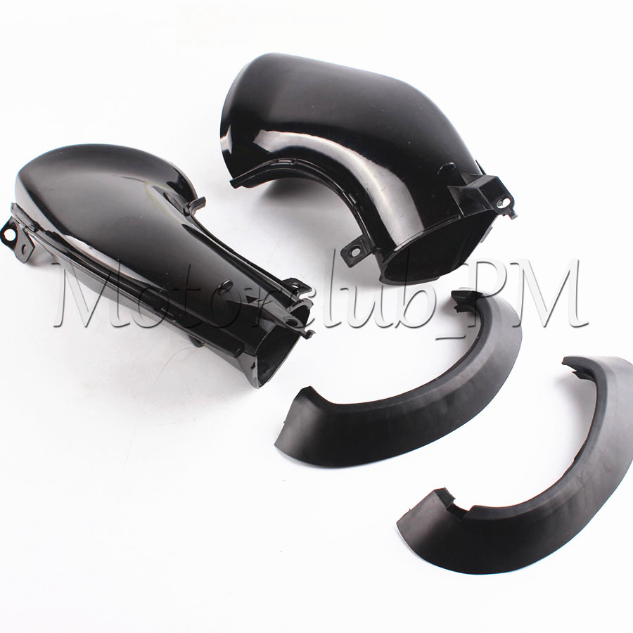 Motorcycle Ram Air Intake Tube Duct For Yamaha YZF R1 2007 2008 High Quality Black ABS Plastic new motorcycle ram air intake tube duct for yamaha yzf r1 2007 2008 high quality black abs plastic