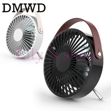 DMWD Ultra-quiet Mini USB fan Air Conditioner Air Cooler For Home School Office portable Electric Desktop Laptop Cooling Fan