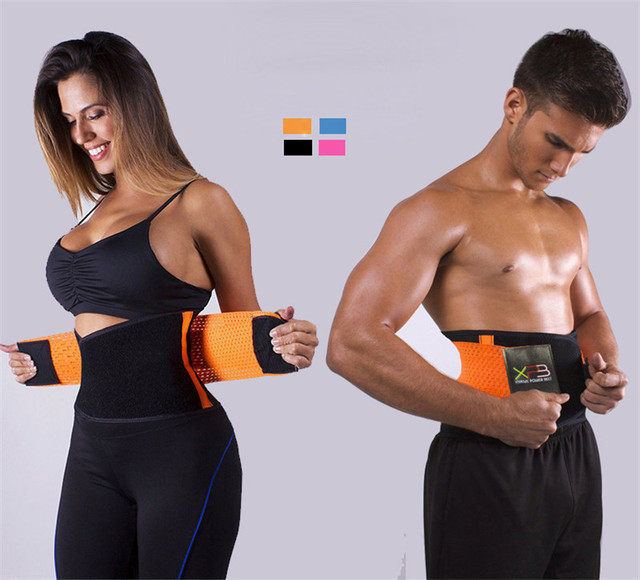 Women's Trainer Waist Cincher Workout Belt Men Body Fitness Modeling Strap protection Waist Trainer Vest Shapers Plus Size