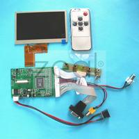 4 3 Color TFT LCD Module 480 272 Display W VGA AV Video Driving Board Without