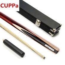 CUPPa Новое поступление 3/4 Снукер cue s Stick 9,8/11,5 мм наконечник с чехол для кия набор 3 варианта китайский Бильярд