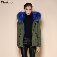 Hot sale Women's Faux Fur Winter Coat Jacket Various Color for Mrs,China supplier wholesale price,discount cheap collar parka