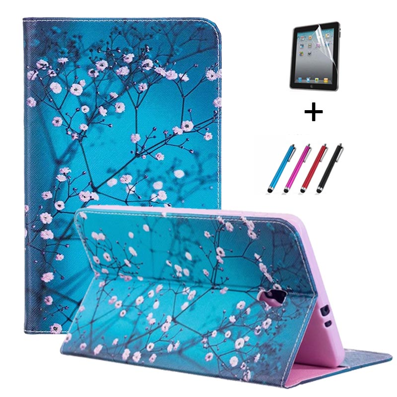 Case For Samsung Galaxy Tab A 8.0 2017 SM-T380 SM-T385 Ultra Slim Trifold Smart Wake Sleep Cover For Samsung Tab A 8 Inch T385