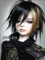 Вспышка! Макияж и глаза включен! 70 см вилочная часть кукла 1/3 bjd Homme ducan dod sd кукла человеческих модель манекен верхний