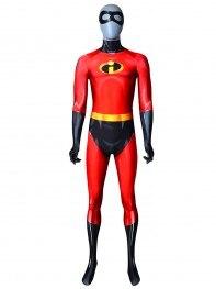 The Incredibles 2 Mr Incredible Cosplay Costume 3D Printing Spandex Man Zentai Suit Superhero Costume
