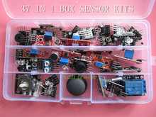 37 IN 1 BOX SENSOR KITS FOR ARDUINO HIGH-QUALITY FREE SHIPPING (Works with Official Arduino Boards)