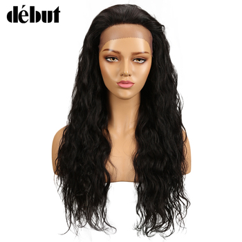 Debut Lace Front Wigs Human Hair Brazilian Body Wave Remy Human Hair Wigs For Black Women Wavy Wigs Human Hair Free Shipping