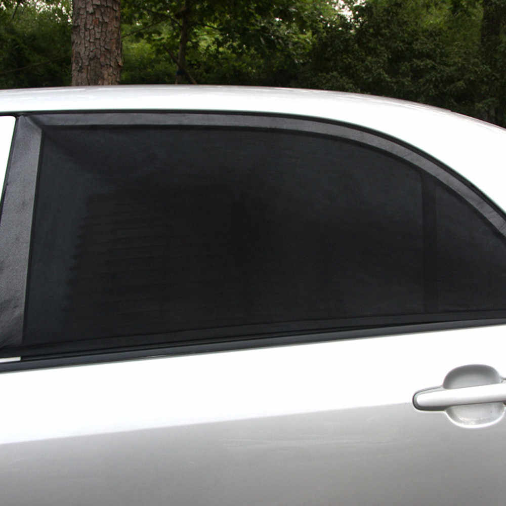 רכב אחורי חלון שמש צל UV Mesh שמש גוונים עיוור ילדים ילדי שמשייה חוסם שחור dropship חם