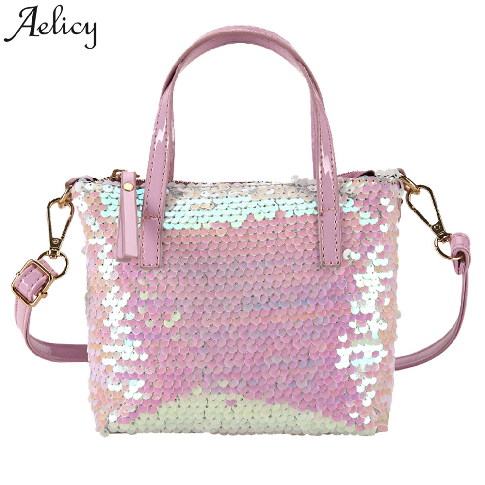 Detail Feedback Questions about Aelicy Bling Sequins Mini PU Party Shoulder  bags Women Hit color Messenger Bags Shoulder Crossbody Bag Designer bolso  sac ... 4f1731ddf253