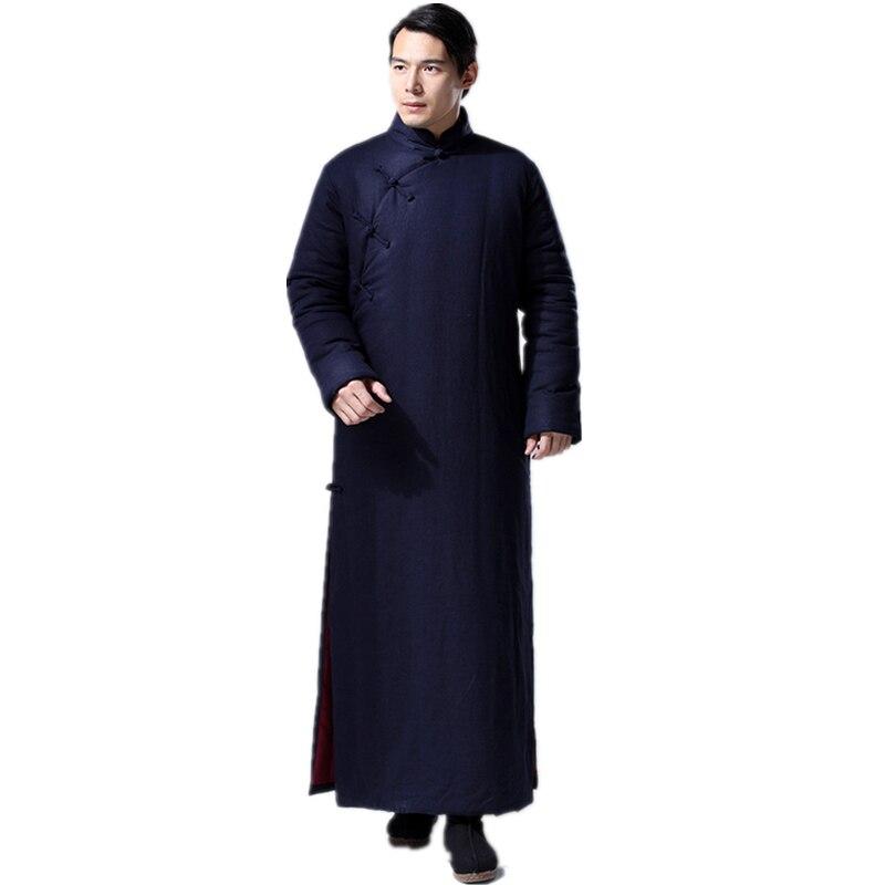Daoist Double Layered Winter Robe 4