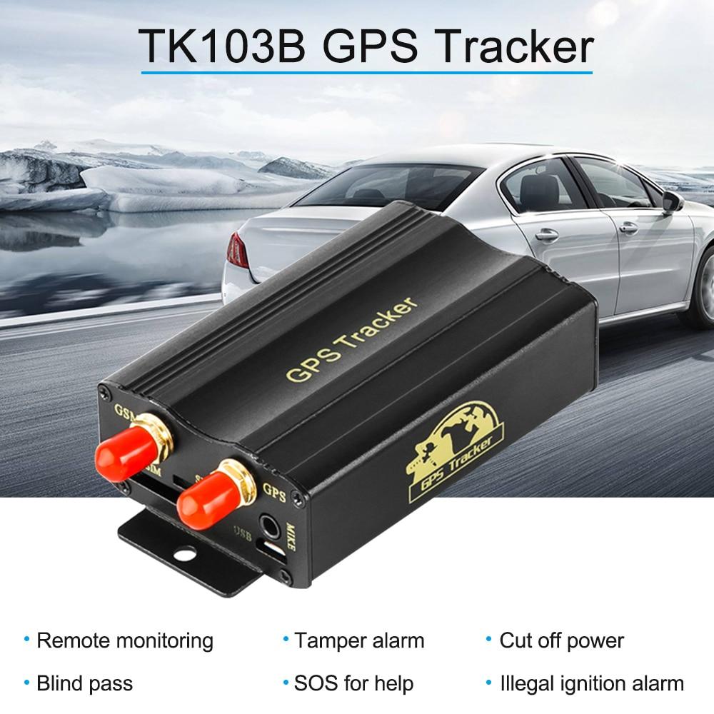 Clever Tk103b Gps Sms Gprs Tracker Fernüberwachung Sabotagealarm Kraftstoff Abgeschnitten Tote Zone Pass Sos Illegale Zündung Alarm Auto Styling